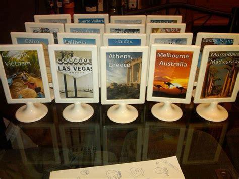 image result  diy travel centerpieces travel theme