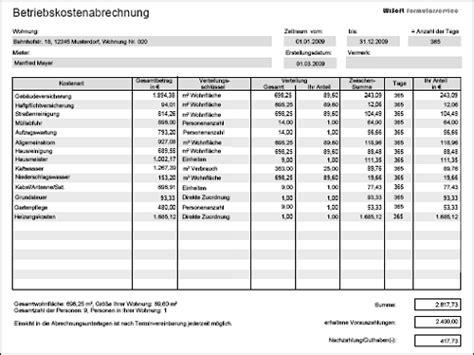 Wohnen Betriebskostenabrechnung by Betriebskostenabrechnung Nebenkostenabrechnung Ebook