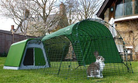 omlet rabbit hutch eglu go rabbit hutch plastic house and run for rabbits