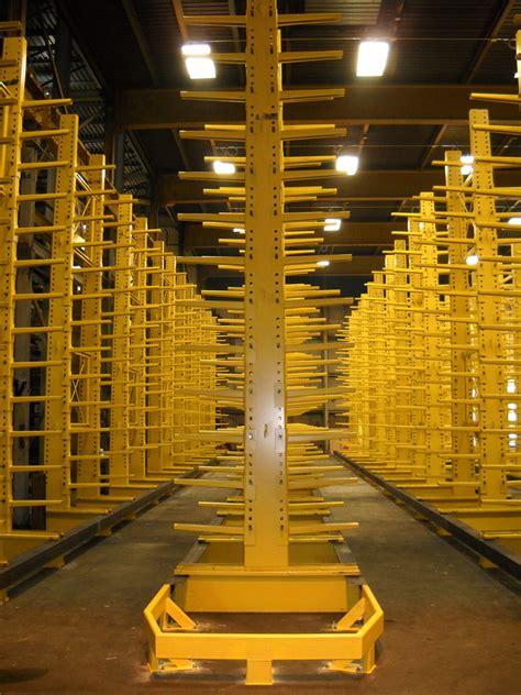 cantilever rack  lumber storage racks