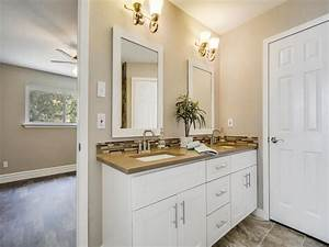 Contemporary, Master, Bathroom, With, Slate, Counters, U0026, Master