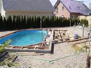 Schwimmbad Selber Bauen : bildimpressionen pool und schwimmbad selber bauen familie daniel k gestaltung poolumgebung ~ Markanthonyermac.com Haus und Dekorationen