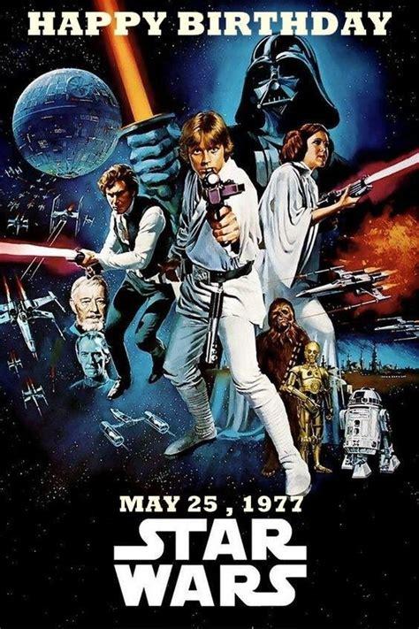 Vous rappelez vous de votre première fois ? Carte Joyeux Anniversaire Star Wars : Carte Anniversaire ...