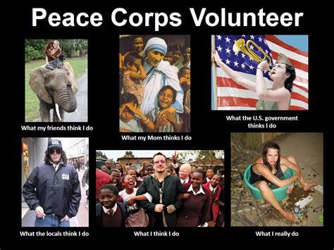 Peace Meme - our peace corps journey the returned peace corps volunteer