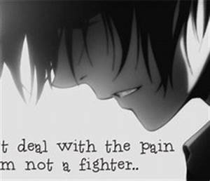 Sad Anime Quote... Anime Boy Quotes