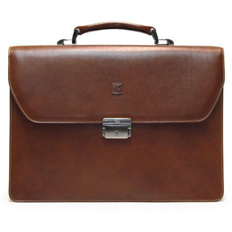 borse porta cartella porta notebook in pelle vacchetta marrone