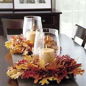 Einfache Herbstdeko Tisch : 40 leichte schnelle und g nstige tischdekoration ideen zum erstaunen ~ Markanthonyermac.com Haus und Dekorationen