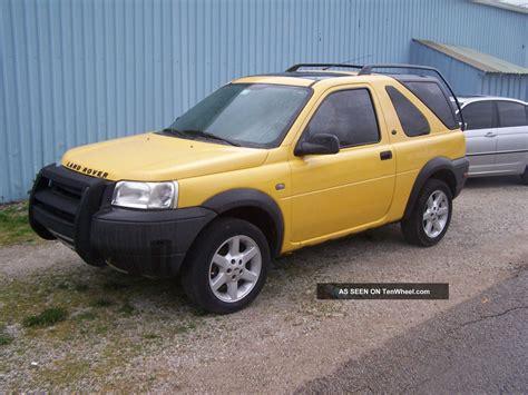 2003 Land Rover Freelander Se3 Sport Utility 2 Door 2 5l