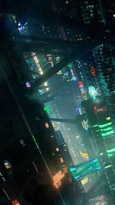 wallpaper futuristic cyberpunk future world 4k 20446