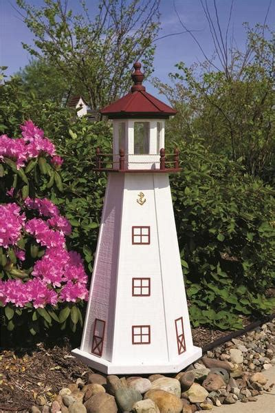 marblehead wooden garden lighthouse  dutchcrafters amish