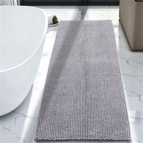 lifewit bath runner rug chenille area mat rugs