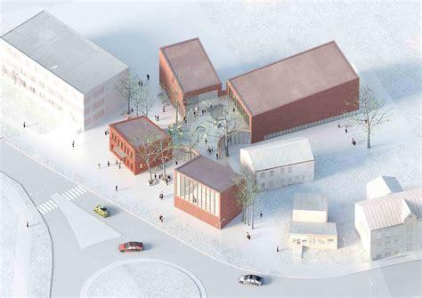 Library Building In Bauska Winning Proposal A2sm