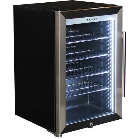 outdoor glazed alfresco glass door bar fridge with