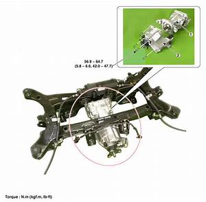Hyundai Santa Fe  Rear Differential Carrier  Components