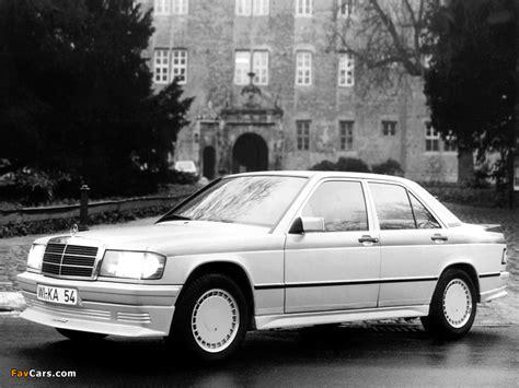 Kamei Mercedes-Benz 190 E X1 (W201) 1986–88 images (800x600)