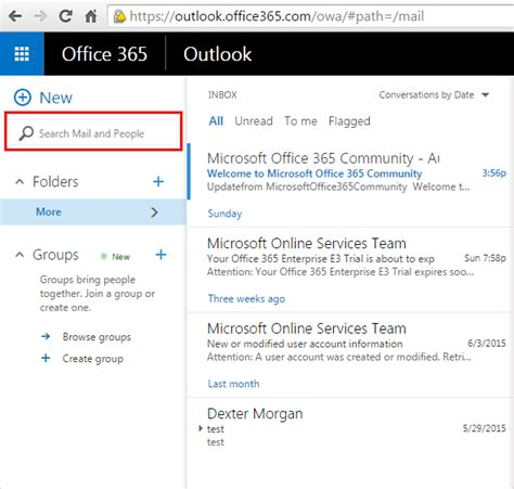 Office 365 Outlook Search by Ediscovery Search In Office 365 Mailbox How To