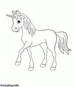 unicorn coloring pages coloring pages  kids  print