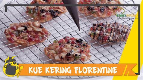 Jumat, 22 mei 2020 11:19. Resep Kue Kering Lebaran: Kue Kering Florentine yang Manis dan Cantik - YouTube