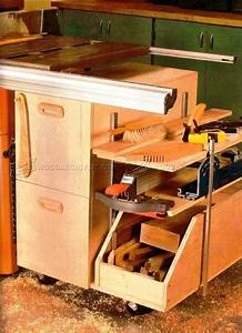 Table Saw Storage Cabinet Plans • WoodArchivist