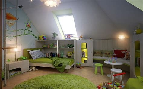 Kinderzimmer Junge Schräge 5 simple steps for decorating functional attic child s room