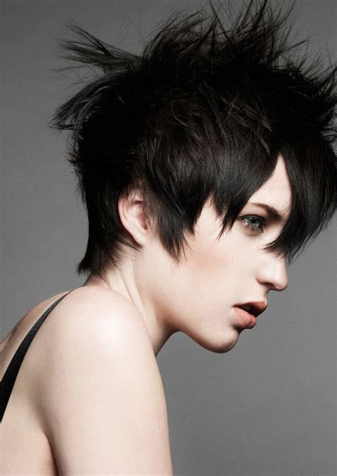 razor cut short hair styles