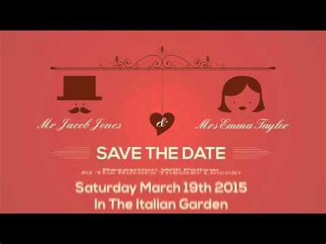 weddingengagementbirthday invitation cards youtube