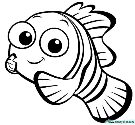 nemo coloring pages    print