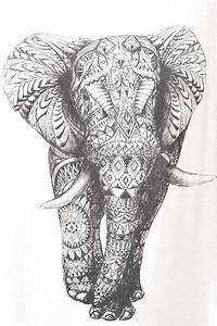 aztec elephant | Tumblr