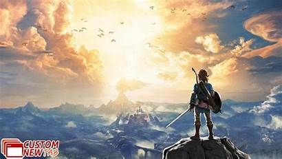 Breath Wild Zelda Legend Wallpapers Newtabsy