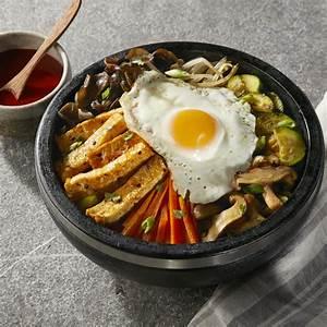 korean tofu bibimbap