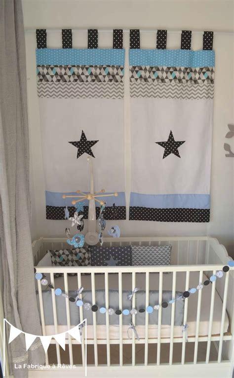 rideau chambre bebe garcon bien chambre bebe garcon bleu gris 3 ophrey rideau bleu