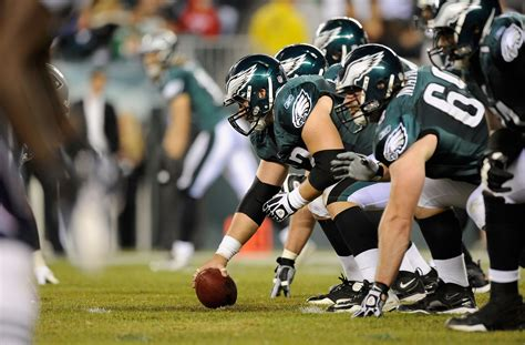 What's Going On With Philadelphia Eagles' Offensive Line?
