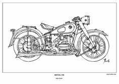 motorcycle blueprints google search motorcycle engines With kick start only and a wiring diargam for dummies yamaha xs650 forum
