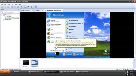 instalar windows xp en una maquina virtual  poner
