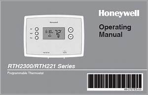 Honeywell Rth2300b1038 Operating Manual