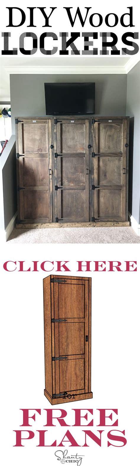 diy locker system clothing storage diy  crafts