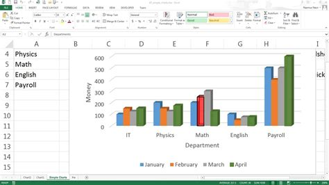 easy excel tutorial excel chart options  youtube