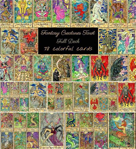 We did not find results for: Fantasy World Tarot full deck   Free download