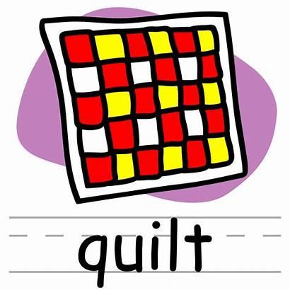 Quilt Clip Words Clipart Phonics Basic Quack