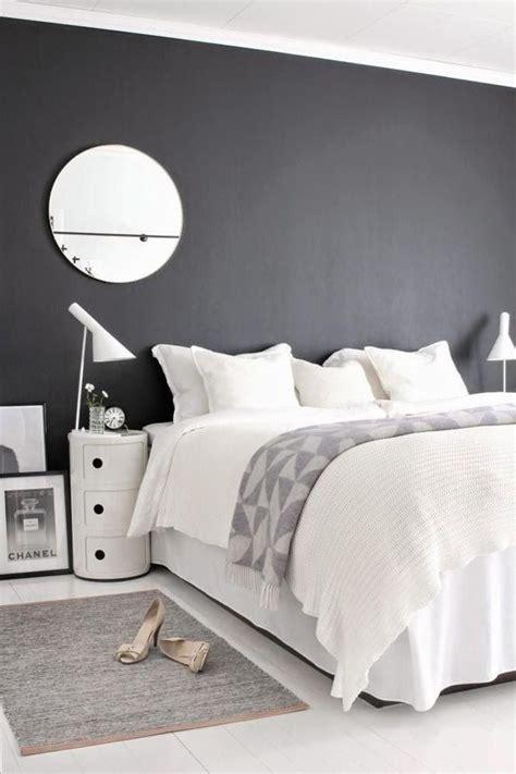 deco chambre adulte blanc deco gris et blanc chambre