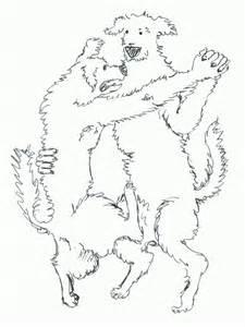 Dancing Dog Drawing