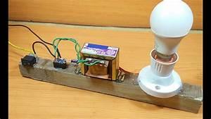 How To Make Inverter At Home Using Fan Capacitor  U0938 U092c U0938 U0947