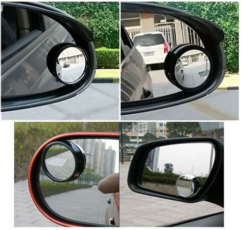 Rear View Mirror Blind Spot by Wise Travel Oval Blind Spot Mirrors Car Wide Rear View