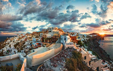 Santorini Mediterranean Magical Secret Travel All Together