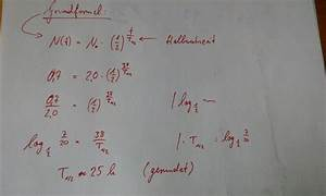 Perioden Berechnen : halbwertszeit halbwertszeit h berechnen nanolounge ~ Themetempest.com Abrechnung