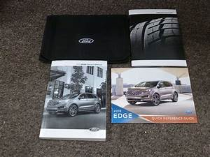 2019 Ford Edge Owner U0026 39 S Manual Set