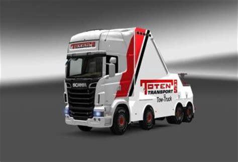 Toten Transport Recovery Truck Ets 2 Euro Truck Simulator