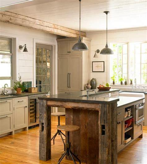 rustic modern kitchens eatwell