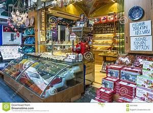 Turkish Locum Dessert Istanbul Editorial Photo