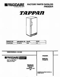 Tappan Tappan Upright Freezer
